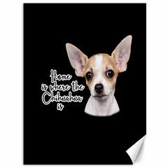 Chihuahua Canvas 36  x 48