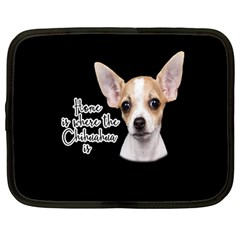 Chihuahua Netbook Case (Large)