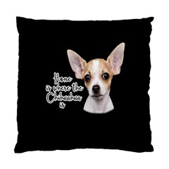 Chihuahua Standard Cushion Case (One Side)