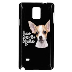 Chihuahua Samsung Galaxy Note 4 Case (Black)