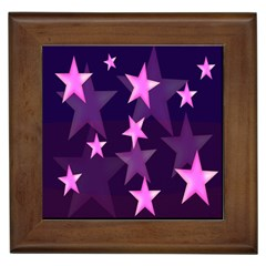 Background With A Stars Framed Tiles