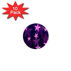 Background With A Stars 1  Mini Magnet (10 pack)