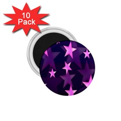 Background With A Stars 1.75  Magnets (10 pack)