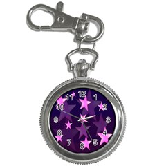 Background With A Stars Key Chain Watches