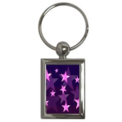 Background With A Stars Key Chains (rectangle)