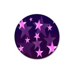 Background With A Stars Magnet 3  (Round)