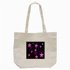 Background With A Stars Tote Bag (Cream)