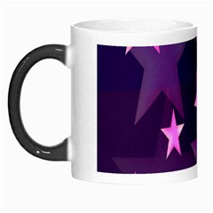 Background With A Stars Morph Mugs