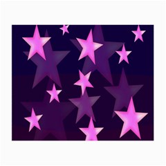 Background With A Stars Small Glasses Cloth