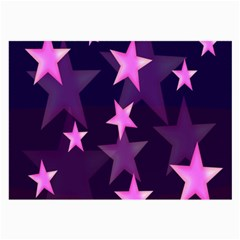 Background With A Stars Large Glasses Cloth (2-Side)
