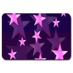 Background With A Stars Large Doormat