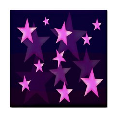 Background With A Stars Face Towel