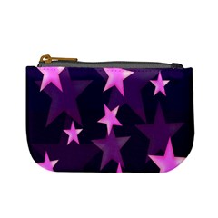 Background With A Stars Mini Coin Purses