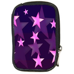 Background With A Stars Compact Camera Cases
