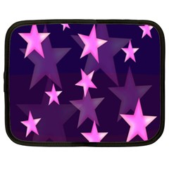 Background With A Stars Netbook Case (xxl)