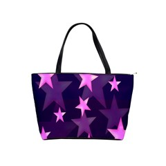 Background With A Stars Shoulder Handbags