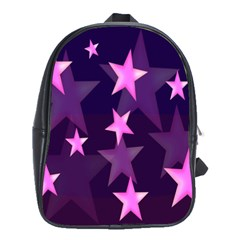 Background With A Stars School Bags(Large)