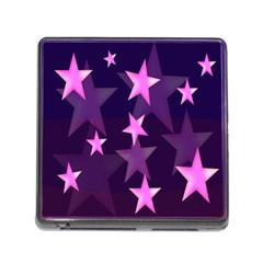 Background With A Stars Memory Card Reader (square)