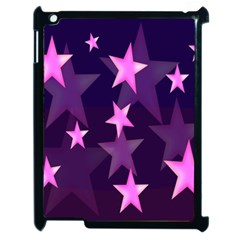 Background With A Stars Apple Ipad 2 Case (black)