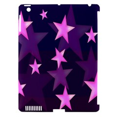Background With A Stars Apple iPad 3/4 Hardshell Case (Compatible with Smart Cover)