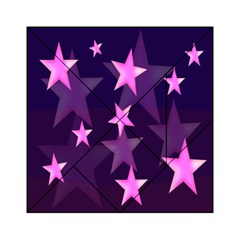 Background With A Stars Acrylic Tangram Puzzle (6  x 6 )