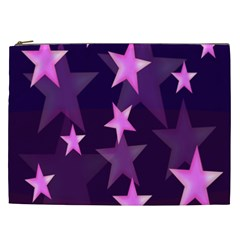 Background With A Stars Cosmetic Bag (xxl)