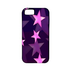 Background With A Stars Apple Iphone 5 Classic Hardshell Case (pc+silicone)