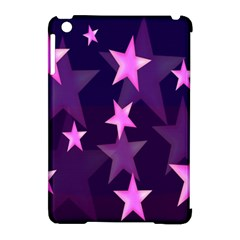 Background With A Stars Apple iPad Mini Hardshell Case (Compatible with Smart Cover)