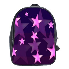 Background With A Stars School Bags (XL)