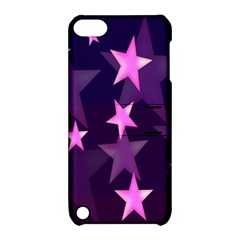 Background With A Stars Apple Ipod Touch 5 Hardshell Case With Stand