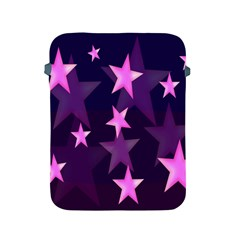 Background With A Stars Apple Ipad 2/3/4 Protective Soft Cases