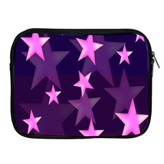 Background With A Stars Apple iPad 2/3/4 Zipper Cases