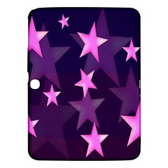 Background With A Stars Samsung Galaxy Tab 3 (10 1 ) P5200 Hardshell Case
