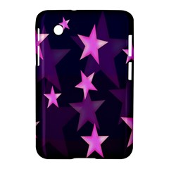 Background With A Stars Samsung Galaxy Tab 2 (7 ) P3100 Hardshell Case