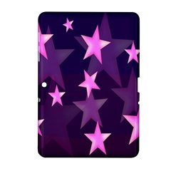 Background With A Stars Samsung Galaxy Tab 2 (10 1 ) P5100 Hardshell Case