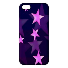 Background With A Stars Iphone 5s/ Se Premium Hardshell Case