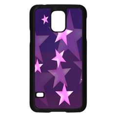 Background With A Stars Samsung Galaxy S5 Case (Black)