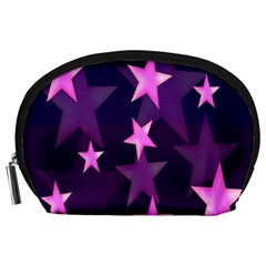 Background With A Stars Accessory Pouches (large)