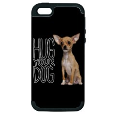 Chihuahua Apple iPhone 5 Hardshell Case (PC+Silicone)