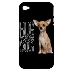 Chihuahua Apple iPhone 4/4S Hardshell Case (PC+Silicone)