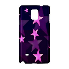 Background With A Stars Samsung Galaxy Note 4 Hardshell Case