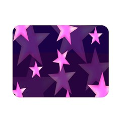 Background With A Stars Double Sided Flano Blanket (Mini)