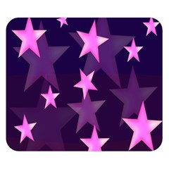 Background With A Stars Double Sided Flano Blanket (Small)