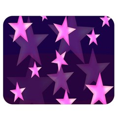 Background With A Stars Double Sided Flano Blanket (medium)