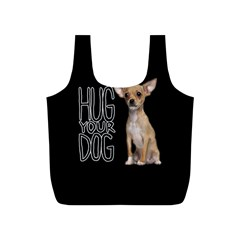 Chihuahua Full Print Recycle Bags (s)