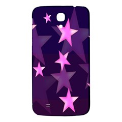Background With A Stars Samsung Galaxy Mega I9200 Hardshell Back Case