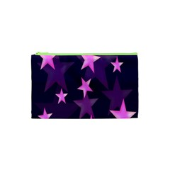 Background With A Stars Cosmetic Bag (xs)