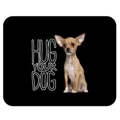 Chihuahua Double Sided Flano Blanket (Medium)