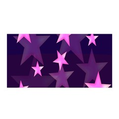 Background With A Stars Satin Wrap