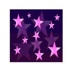 Background With A Stars Small Satin Scarf (square)